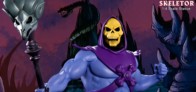 Skeletor statue by Pop Culture Shock now up for pre-orders